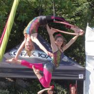 Coaches perform as members of Aerial Angels